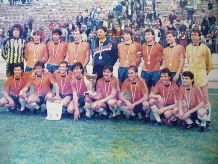 30-годишнината от победата на Сливен за Купата на България ще се отбележи през септември